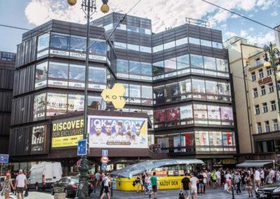 MMA billboard, Obchodní dům Kotva